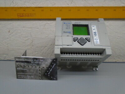 1763-l16bbb Series B Frn 9 Allen Bradley Micrologix 1100 Plc 1763l16bbb 163f