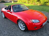2006 (06 ) Mark 3 MAZDA MX-5 2.0i SPORT Red Convertible 6 speed Petrol Manual MX5 Factory hardtop