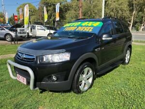 2013 Holden Captiva CG MY12 7 CX (4x4) Black 6 Speed Automatic Wagon Clontarf Redcliffe Area Preview