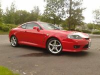 HYUNDAI COUPE 2.7 TUSCANI. 2006. SUPERB CONDITION. 63000 miles, full service history, 1 yr MOT