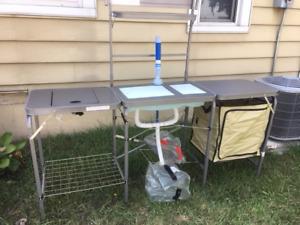 Camp Kitchen, Camping Kitchen, Portable Kitchen, Portable Stove