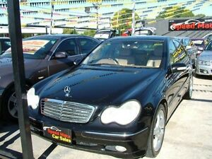 2001 Mercedes-Benz C180 W203 Elegance 5 Speed Auto Tipshift Sedan Coburg North Moreland Area Preview