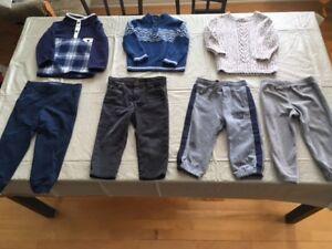 Vêtements pour garçon très propres entre 1$ et 7$
