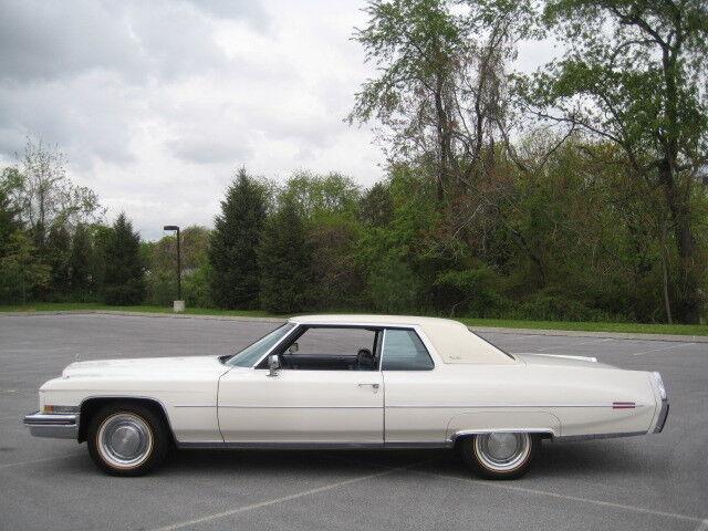 Cadillac : DeVille Coupe DeVill 1973 Cadillac Coupe DeVille