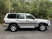 2004 Toyota Landcruiser UZJ100R GXL Silver Automatic Wagon Springwood Logan Area Preview