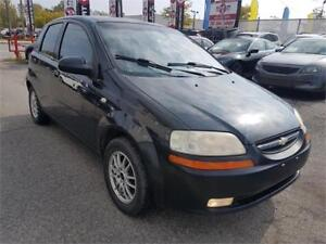 2005 Chevrolet Aveo LT,  MANUAL, POWER WINDOWS, MAGS, 1.6L