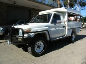 2008 Toyota Landcruiser VDJ79R GX (4x4) White 5 Speed Manual Cab Chassis Roselands Canterbury Area Preview