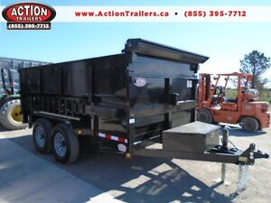 Mobile Dumpster 7 x 12' with 4' high sides -7 ton -Pay 193 month