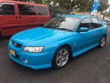 2005 Holden Commodore VZ 05 Upgrade SV6 Blue 6 Speed Manual Sedan Campbelltown Campbelltown Area Preview