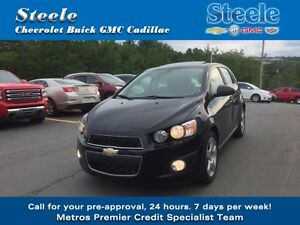 2015 Chevrolet SONIC LT Sunroof & Alloys !!!