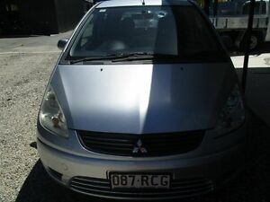2008 Mitsubishi Colt RG MY08 ES Silver 1 Speed Constant Variable Hatchback Bray Park Pine Rivers Area Preview