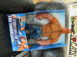 """MARVEL THE THING   NEW IN BOX  26 """"  POSABLE FIGURE"""