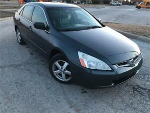 2005 Honda Accord Sdn EX-L FULLY LOADED *CERTIFIED*