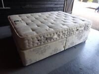Double bed including mattress delivery available