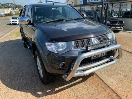 2014 Mitsubishi Triton MN MY14 Update GLX-R (4x4) Grey 5 Speed Automatic 4x4 Double Cab Utility Port Macquarie Port Macquarie City Preview