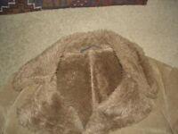 Dunn & Co Faux Fur Coat