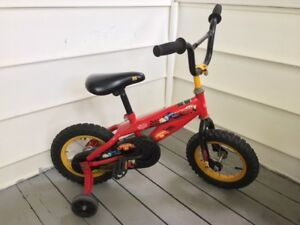 Disney Pixar Cars 12 inch kids bicycle