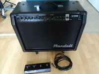 AMPLI GUITARE RANDALL RX75RG2   COMME NEUF FOOTSWITCH
