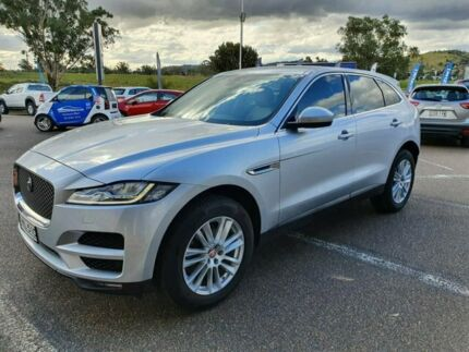 2018 Jaguar F-PACE X761 MY18 Portfolio Silver 8 Speed Sports Automatic Wagon Taminda Tamworth City Preview