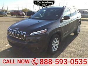 2016 Jeep Cherokee 4WD LATITUDE Back-up Cam,  Bluetooth,