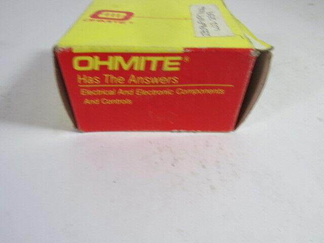 Ohmite 5106 Electrical Knob  NEW