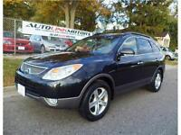2007 HYUNDAI VERACRUZ GLS L.E. AWD*LEATHER*LOADED*DVD*7 PASS*