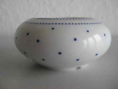 Teelichthalter - Kerzenständer Arzberg Daily Lagune blaue Punkte