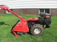 Rear tine Yard Machine Garden Tiller like new