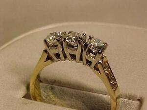 #3151-14K-VS DIAMOND ENGAGEMENT RING-Appraised $5000.00-SELL $1495.00-WILL SHIP CANADA ONLY-ACCEPT EMAIL BANK TRANSFER