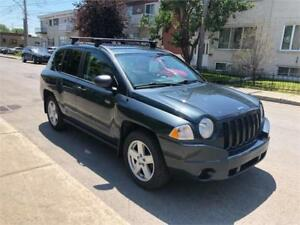 2008 JEEP COMPASS- automatic- 4 CYLINDRES-  103KM-   4200$