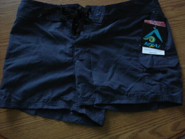 Kanu Surf Women's Breeze Board Shorts, Slate Grey, 4