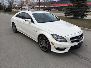 2013 Mercedes Benz CLS-Class CLS63 AMG*RED LEATHER*DRIVE ASSIST*