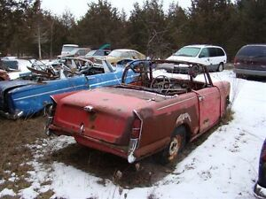 I have an old Triumph Herald convertible for parts.