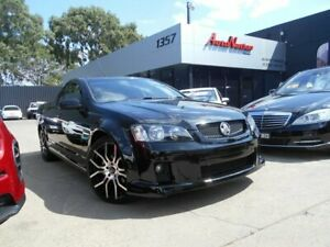 2009 Holden Commodore VE MY09.5 SV6 Black 6 Speed Manual Utility Fawkner Moreland Area Preview