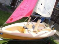 Pico sailing dingy