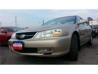 2003 ACURA TL  Auto, LEATHER, S-Roof, A-Rims, ONLY 154k !!