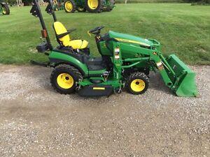 2012 John Deere 1026R Compact Tractor