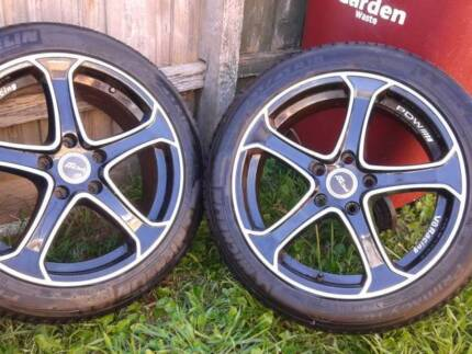 """18"""" Tyres and Rims 235/45R18 Dandenong Greater Dandenong Preview"""