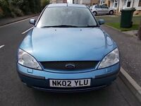 FORD MONDEO GHIA X SALOON (LEATHER INTERIOR) 02 REG MOT OCTOBER 2016