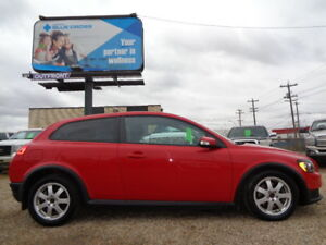 2008 VOLVO C30 2DR CPE AUTO-HEATED SEATS-SUNROOF-ONE OWNER-135K