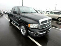 FRESH IMPORT LATE 2004 DODGE RAM 5.7 V8 HEMI CREW CAB AUTOMATIC BLACK