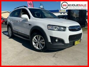 2014 Holden Captiva CG 7 LT Wagon 7st 5dr Spts Auto 6sp AWD 2.2DT [MY14] White Sports Automatic Minchinbury Blacktown Area Preview