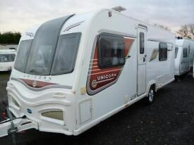 Bailey Unicorn II Cadiz, 2013 Model, with Awning.