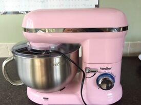 BRAND NEW VonShef Pink Food Mixer