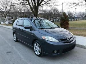 2006 MAZDA 5 GT  , AUTOMATIQUE, 101.000 KM , 6 PASSAGERS , 4 CYL