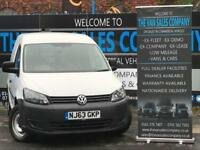 2013 63 VOLKSWAGEN CADDY 1.6 C20 TDI STARTLINE BLUEMOTION TECHNOLOGY 5D 74 BHP D