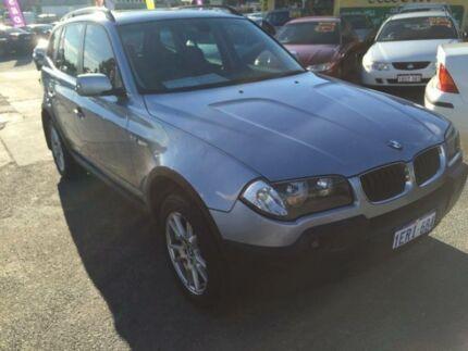 2005 BMW X3 E83 2.5I Blue 5 Speed Auto Steptronic Wagon Beaconsfield Fremantle Area Preview