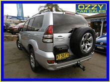 2008 Toyota Landcruiser Prado KDJ120R 07 Upgrade VX (4x4) Silver 5 Speed Automatic Wagon Penrith Penrith Area Preview