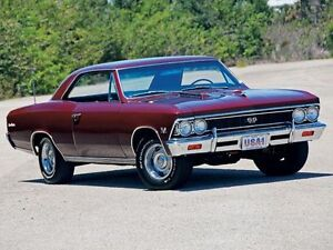 1966 Chevelle Malibu parts in Ontario - shipping available
