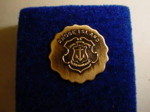 Vintage Rhode Island State Seal Lapel/Hat Pin   s243